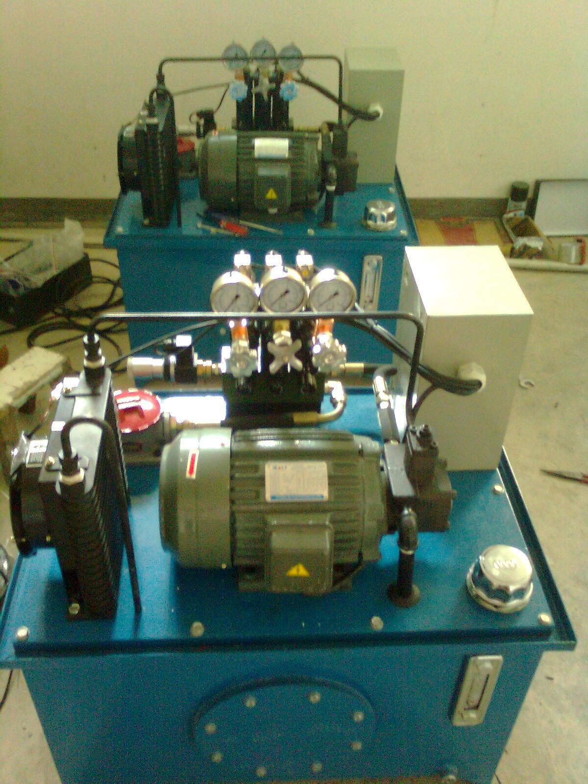 机床液压系统图片